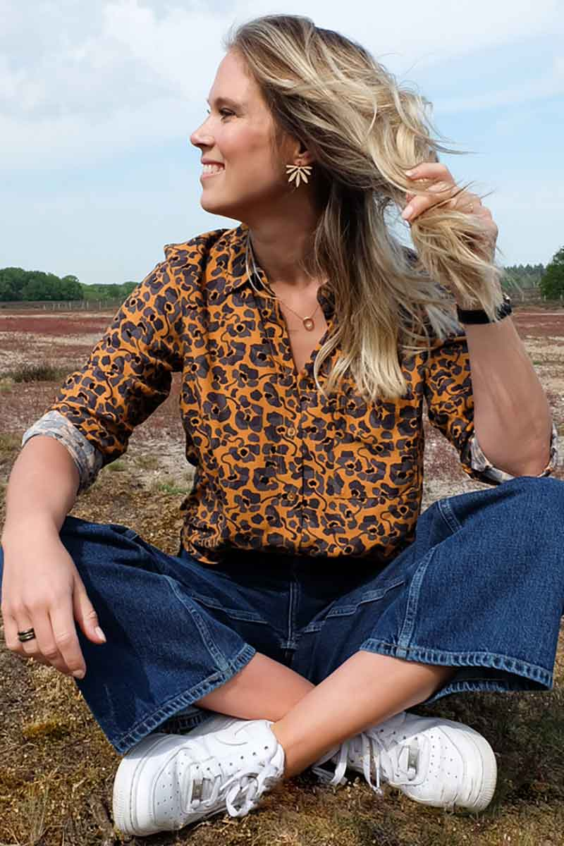 ARMEDANGELS Taaimi Camou Flowers shirt | Sophie Stone
