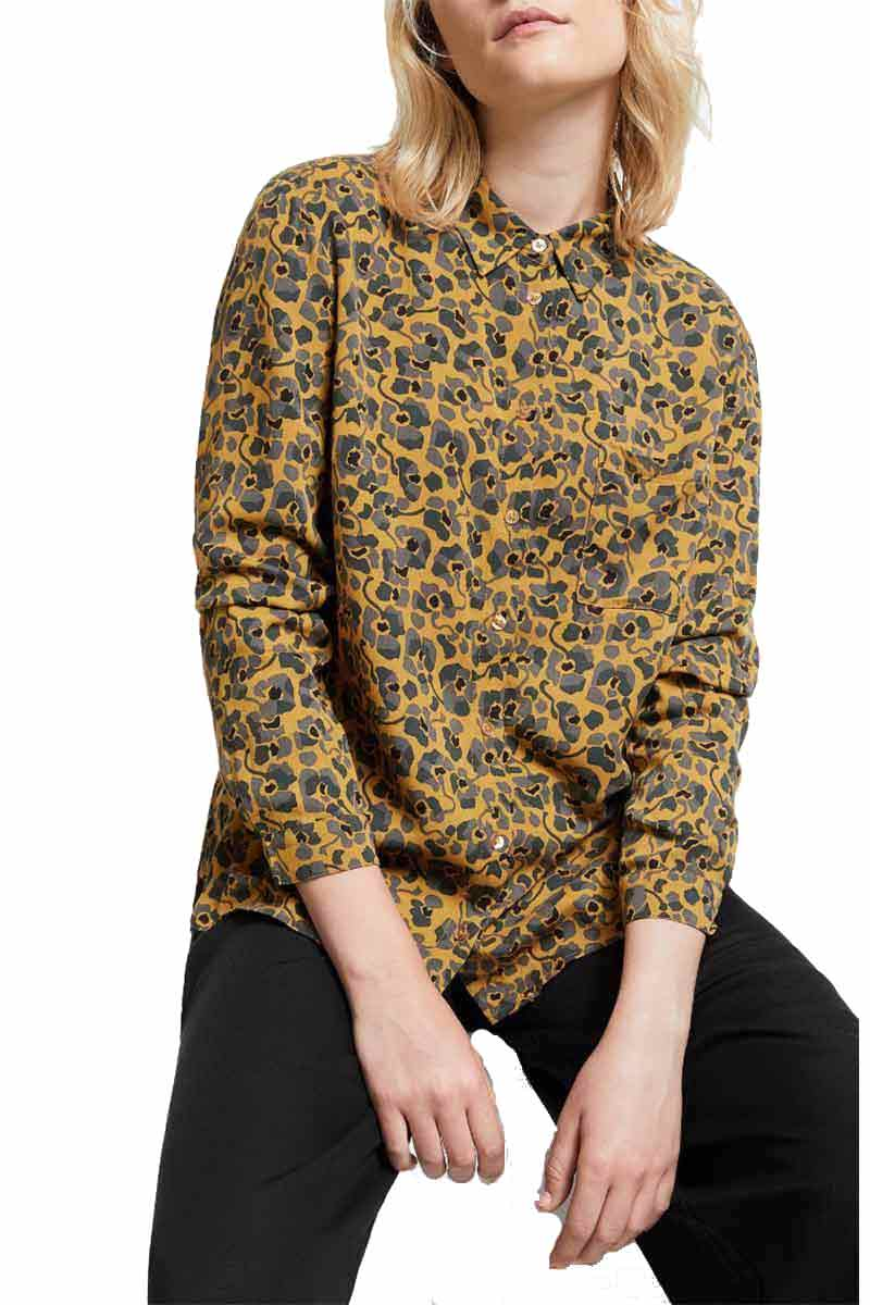 ARMEDANGELS Taaimi Camou Flowers blouse | Sophie Stone