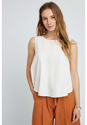 People Tree Tavi sleeveless top | Sophie Stone