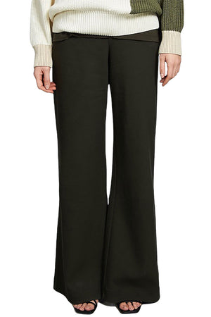 Jan 'n June wide pants Tonala olive green | Sophie Stone