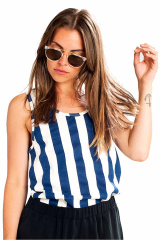 Nora big stripes top