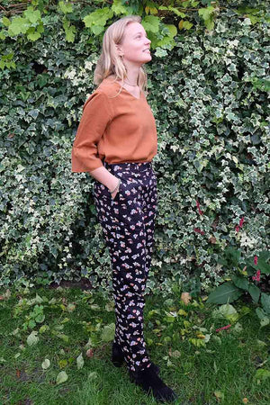 People Tree Candice Floral broek | Sophie Stone