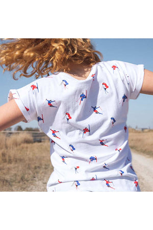 Dedicated Visby Jump Pattern shirt | Sophie Stone