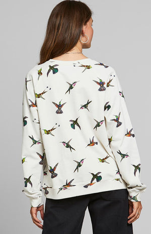 Dedicated Ystad Hummingbirds sweatshirt | Sophie Stone