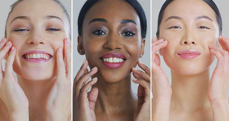 Dramatic Renewal with Skin Bleaching