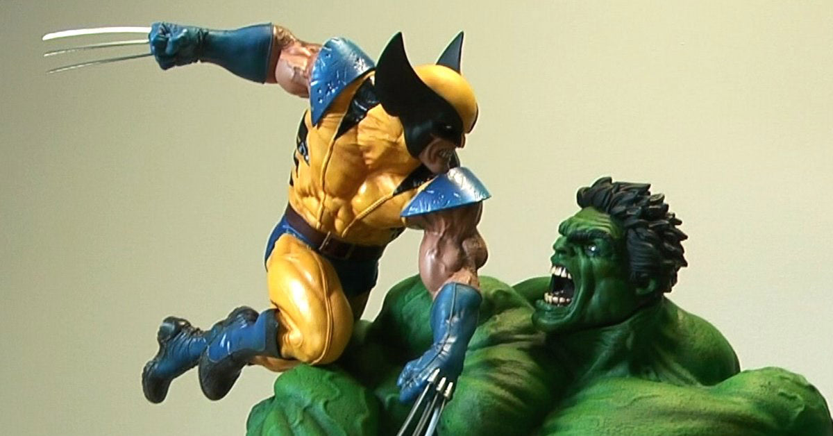 Sideshow Collectibles Hulk Vs. Wolverine Maquette Statue Review