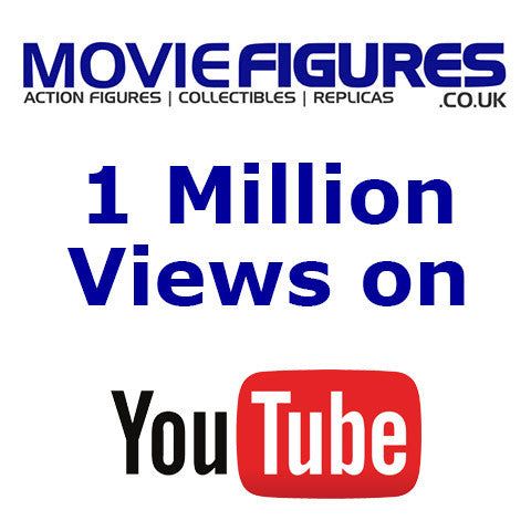 Movie Figures hits 1 million views on YouTube :)