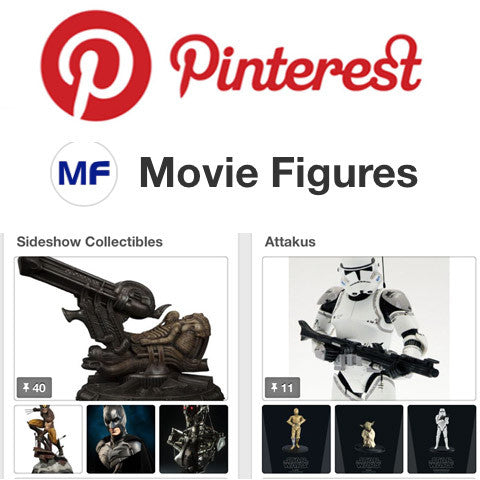Movie Figures Is Now On Pinterest. Pin away please!