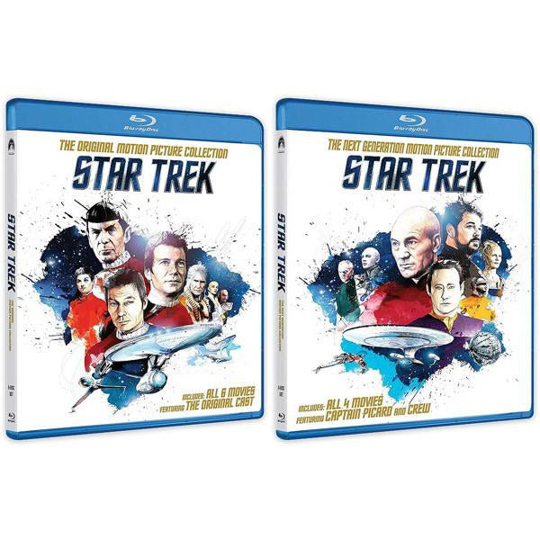 Star Trek gets new action figures and Blu-ray artwork to celebrate franchise's 50th anniversary