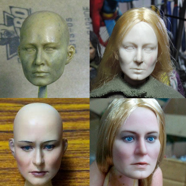 Asmus Head sculpts