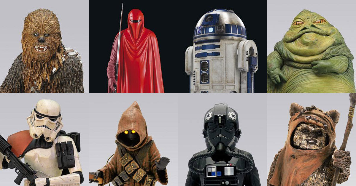 Attakus Star Wars Statues