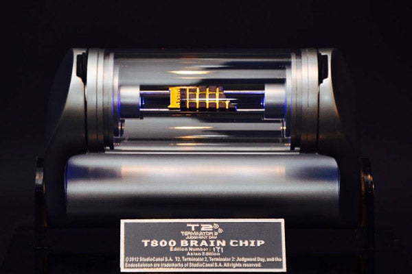 cool things to buy - hcg t800 brain chip prop replica