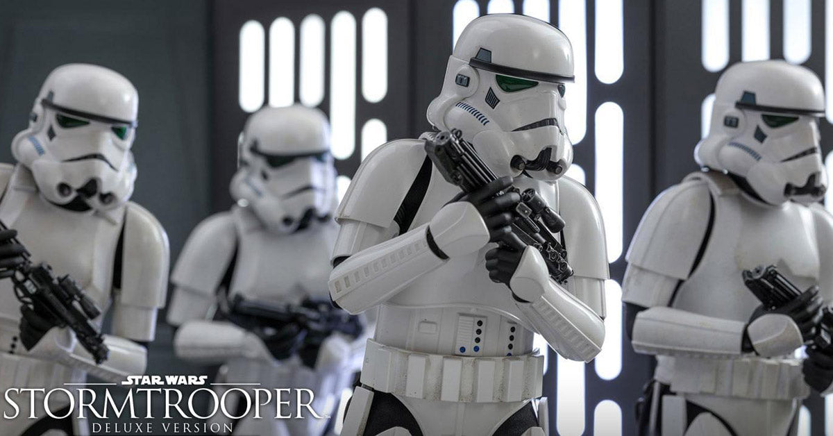 Hot Toys Star Wars Stormtrooper Deluxe Action Figure