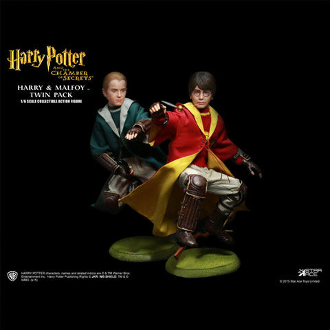 Star Ace Toys Harry and Draco Action Quidditch Figures