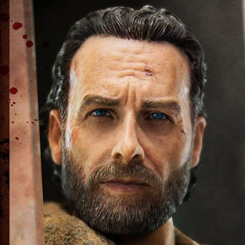 Threezero Rick Grimes Action Figure