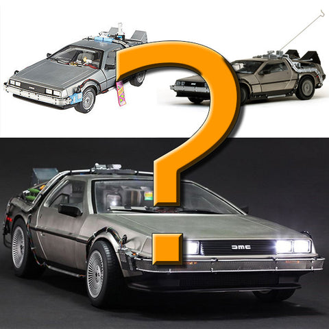 which back to the future delorean model should you buy?
