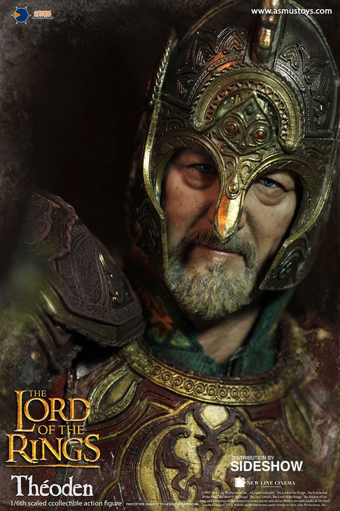 Asmus Toys Lord of the Rings Theoden 1/6 Action Figure