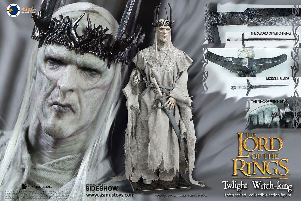 Asmus Toys Lord of the Rings Twilight Witch-King 1/6 Action Figure