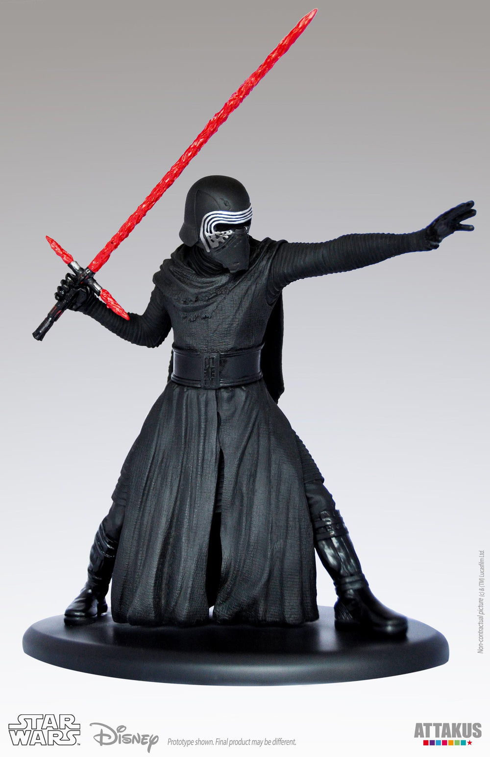 Attakus Star Wars Episode VII Kylo Ren 1/10 Statue