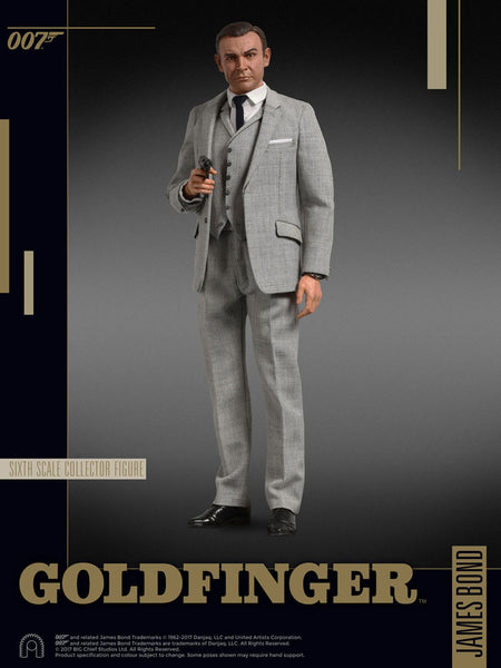 BIG Chief Studios Goldfinger James Bond 1/6 Action Figure