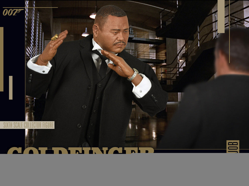 BIG Chief Studios Goldfinger Oddjob 1/6 Action Figure