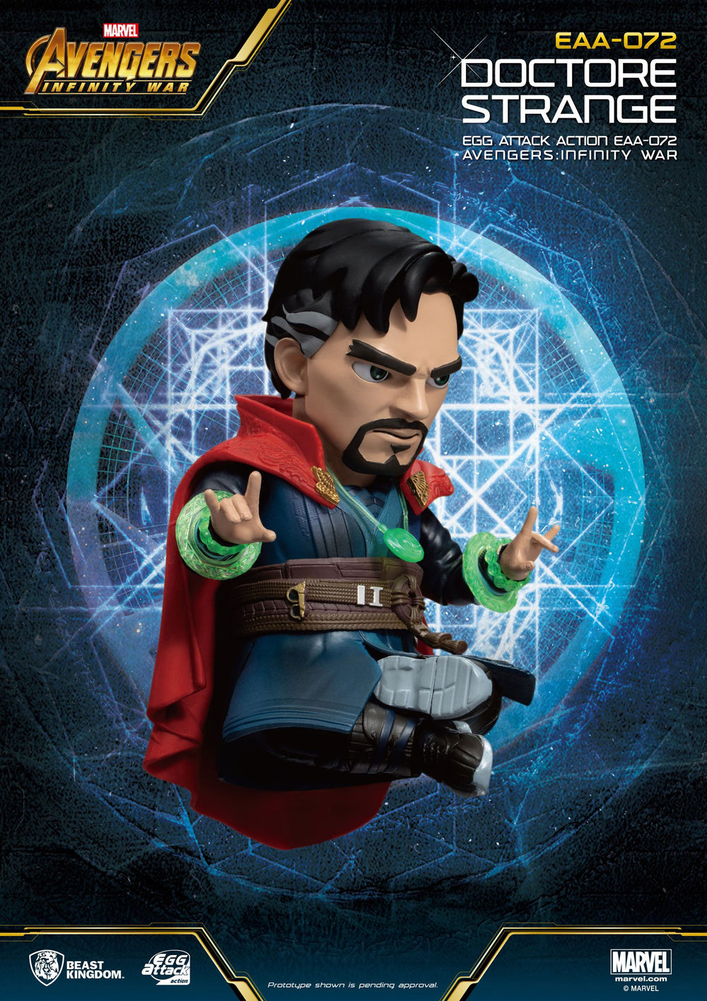 Beast Kingdom Avengers: Infinity War Doctor Strange Egg Attack Action Figure