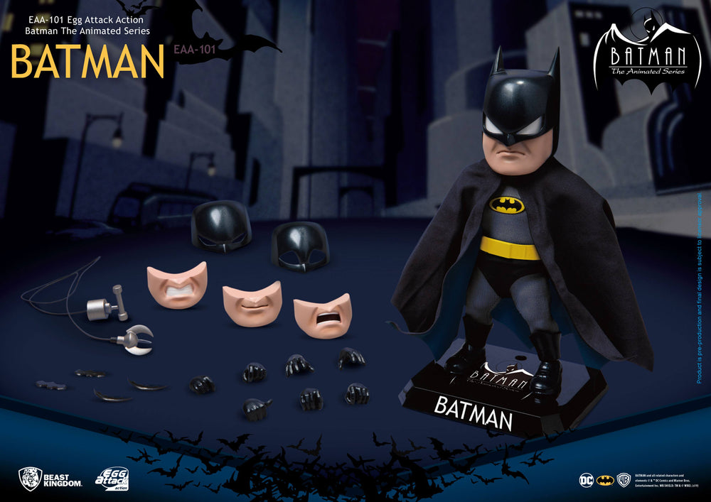 Beast Kingdom Batman The Animated Series Batman Egg Attack Action Figure