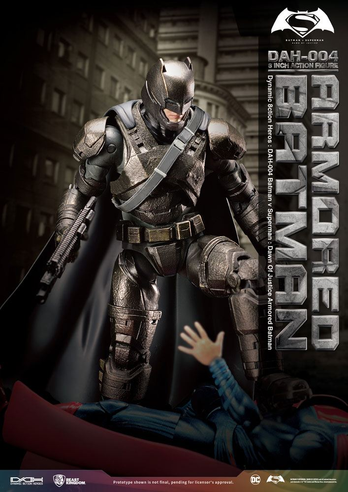 Beast Kingdom Batman v Superman Armored Batman Dynamic 8ction Heroes 1/9 Action Figure