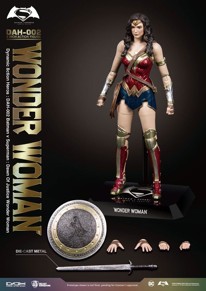 Beast Kingdom Batman v Superman Wonder Woman Dynamic 8ction Heroes 1/9 Action Figure