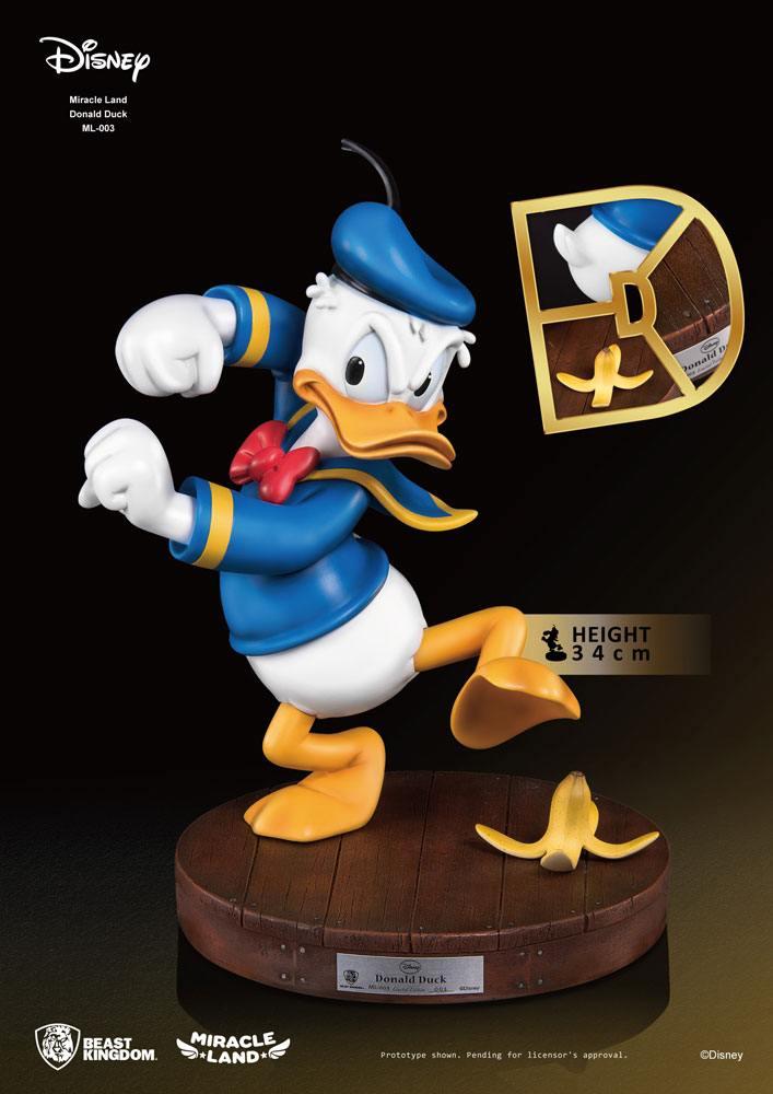 Beast Kingdom Disney Donald Duck Miracle Land PVC Statue