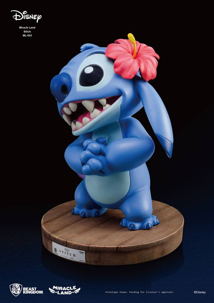 Beast Kingdom Disney Stitch Miracle Land Statue