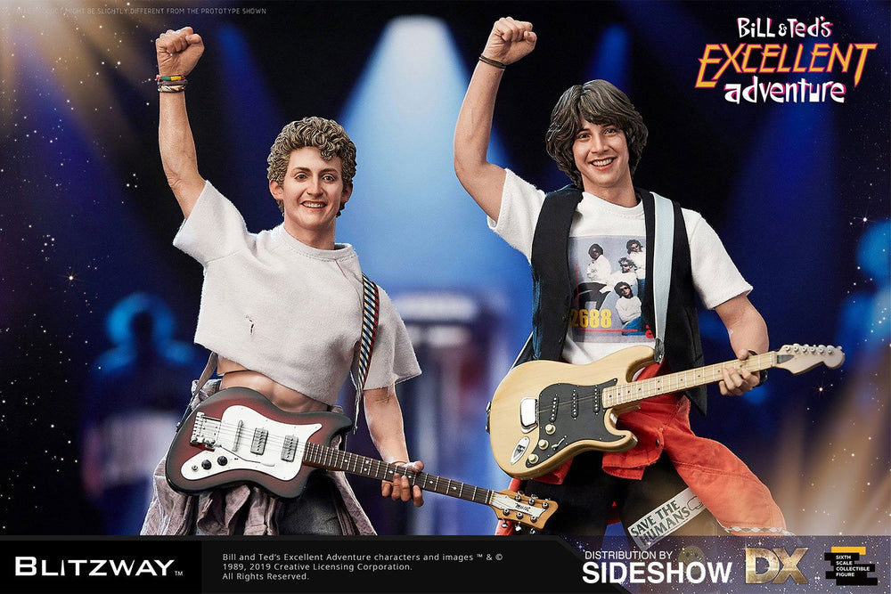 Blitzway Bill & Ted's Excellent Adventure Bill & Ted 1/6 Action Figure 2-Pack