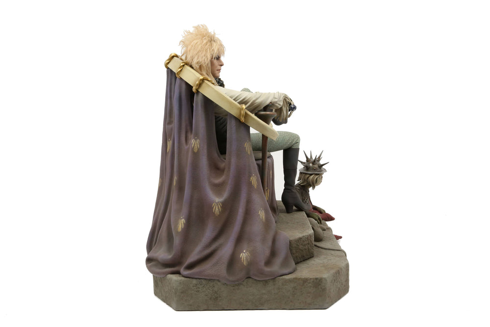 Chronicle Collectibles Labrynth Jareth on Throne 1/4 Statue