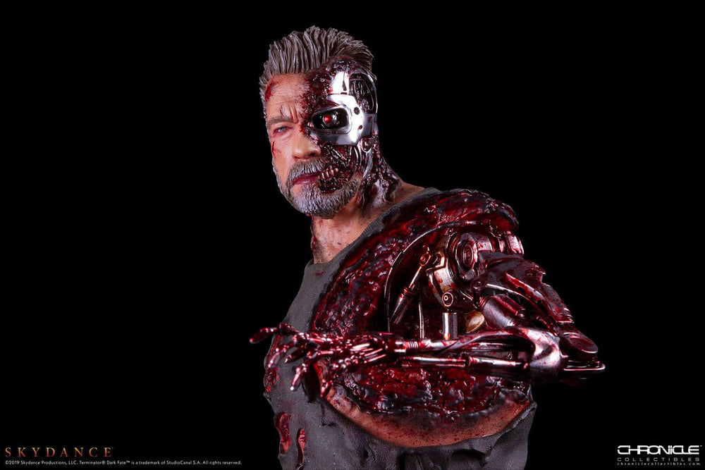 Chronicle Collectibles Terminator: Dark Fate T-800 1/4 Statue