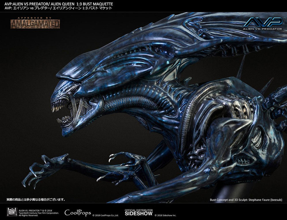 CoolProps Aliens vs Predator Alien Queen 1/3 Bust Maquette