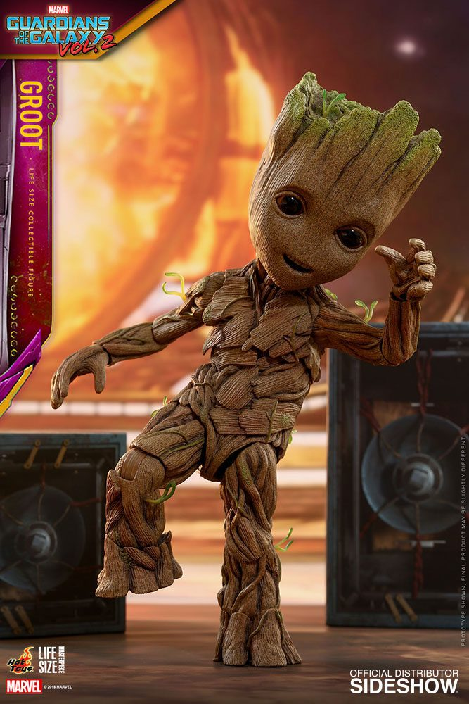 Copy of Hot Toys Guardians Of The Galaxy Vol. 2 Groot Slim Version Life-Size 1/1 Action Figure