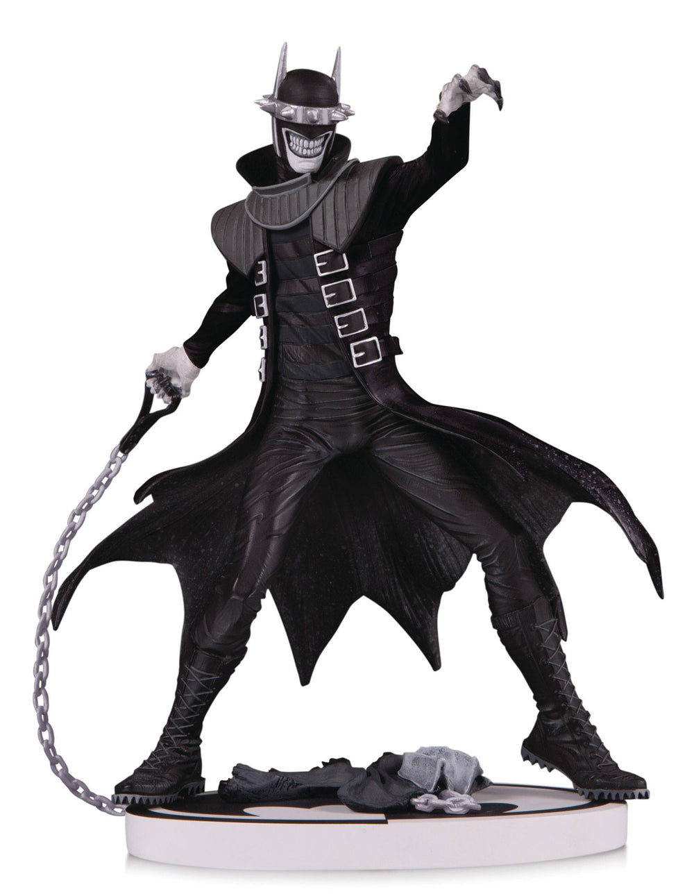 DC Collectibles Batman Black & White The Batman Who Laughs 2nd Edition Statue