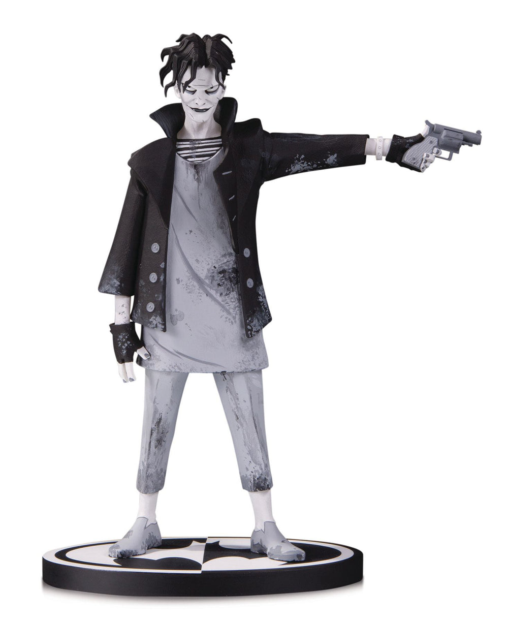 DC Collectibles Batman Black & White The Joker by Gerard Way 1/10 Statue