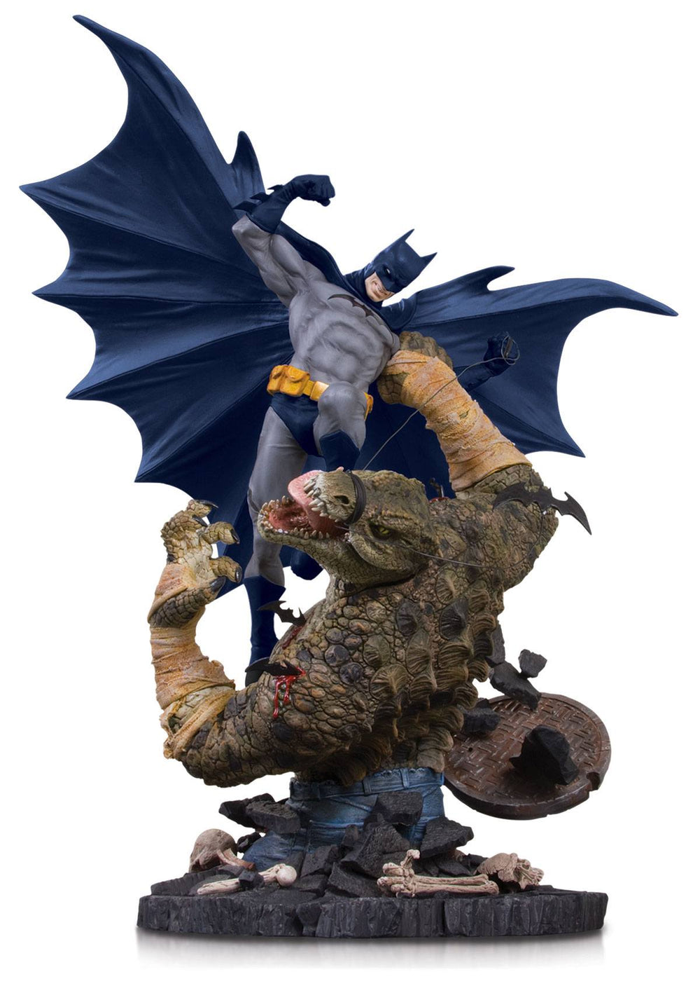 DC Collectibles DC Comics Batman vs. Killer Croc Mini Battle Statue