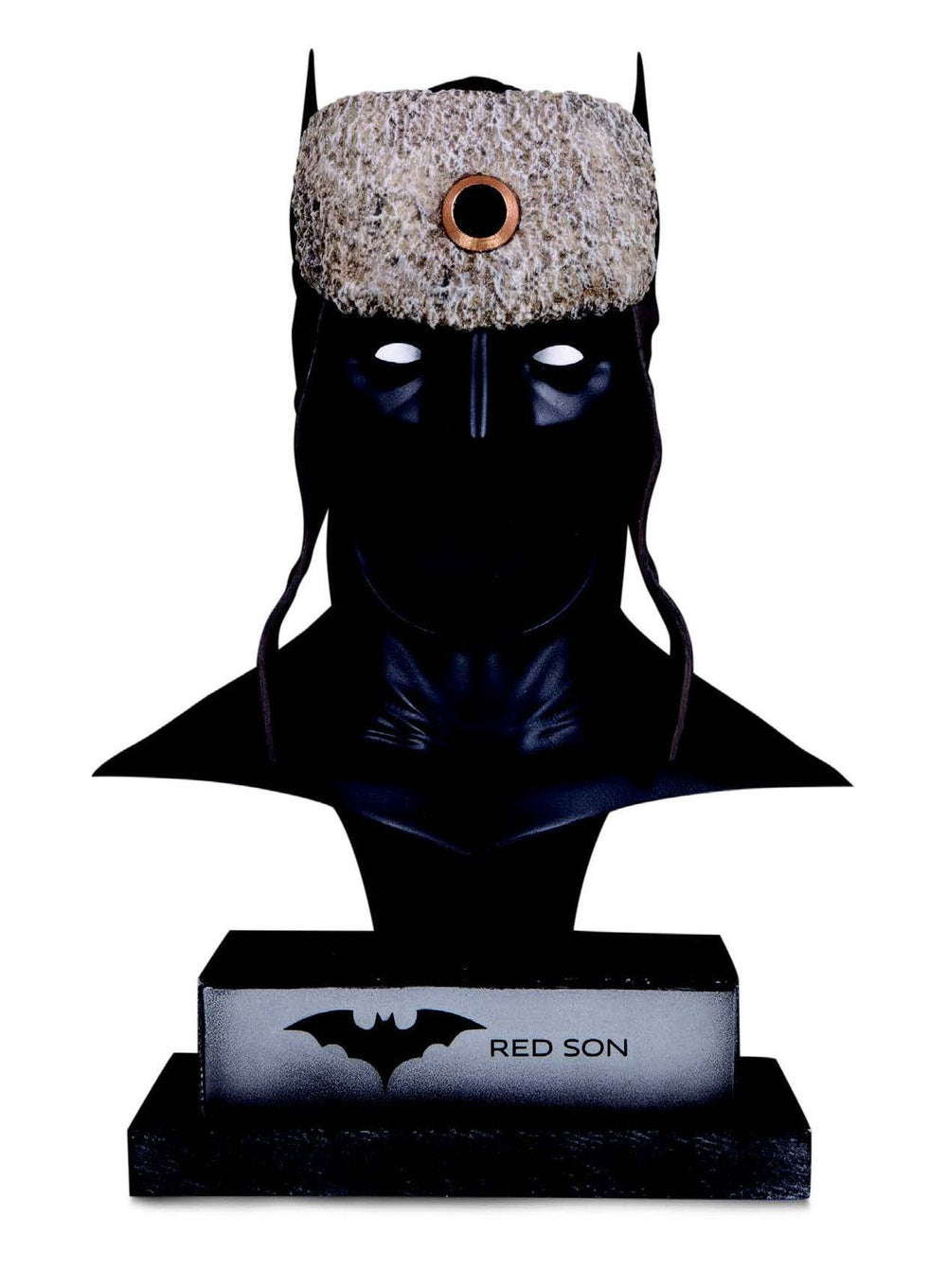 DC Collectibles DC Gallery Red Son Batman Cowl 1/2 Bust