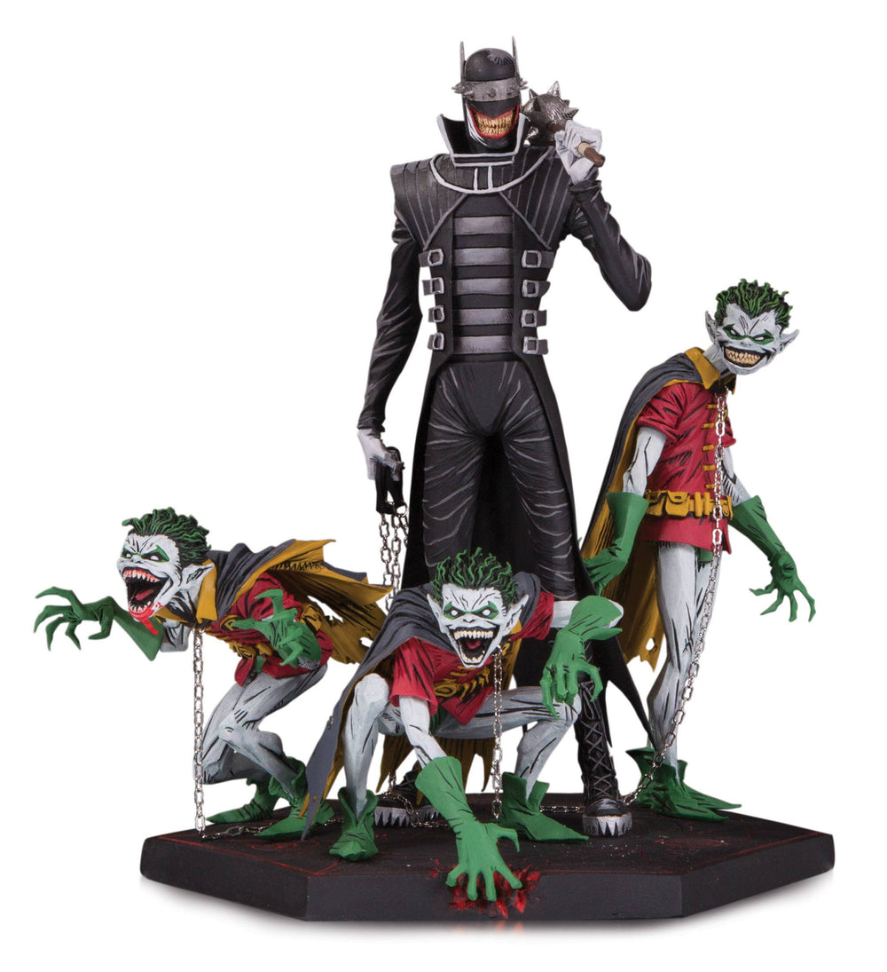 DC Collectibles Dark Nights: Metal Batman Who Laughs & Robin Minions Deluxe Statue