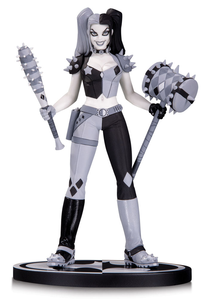 DC Collectibles Batman Black & White Harley Quinn by Amanda Conner Statue
