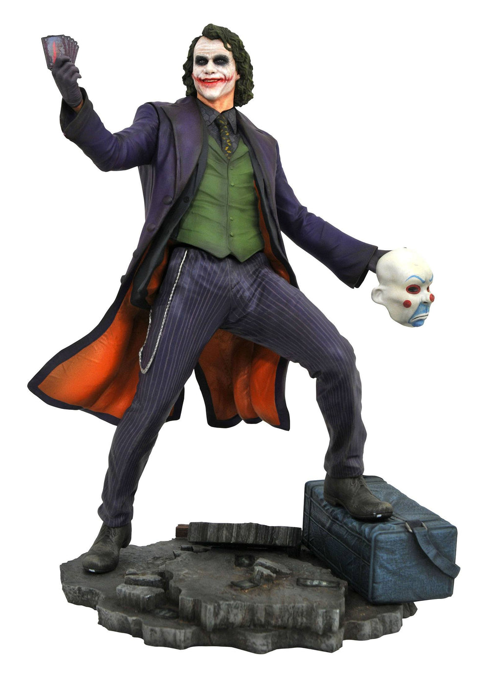 Diamond Select Toys DC Movie Gallery The Dark Knight The Joker PVC Statue