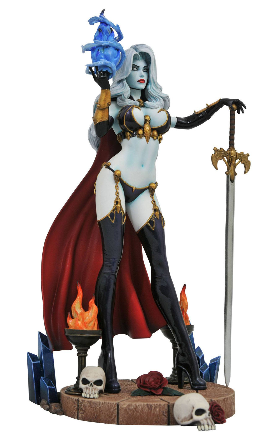 Diamond Select Toys Femme Fatales Lady Death IV PVC Statue