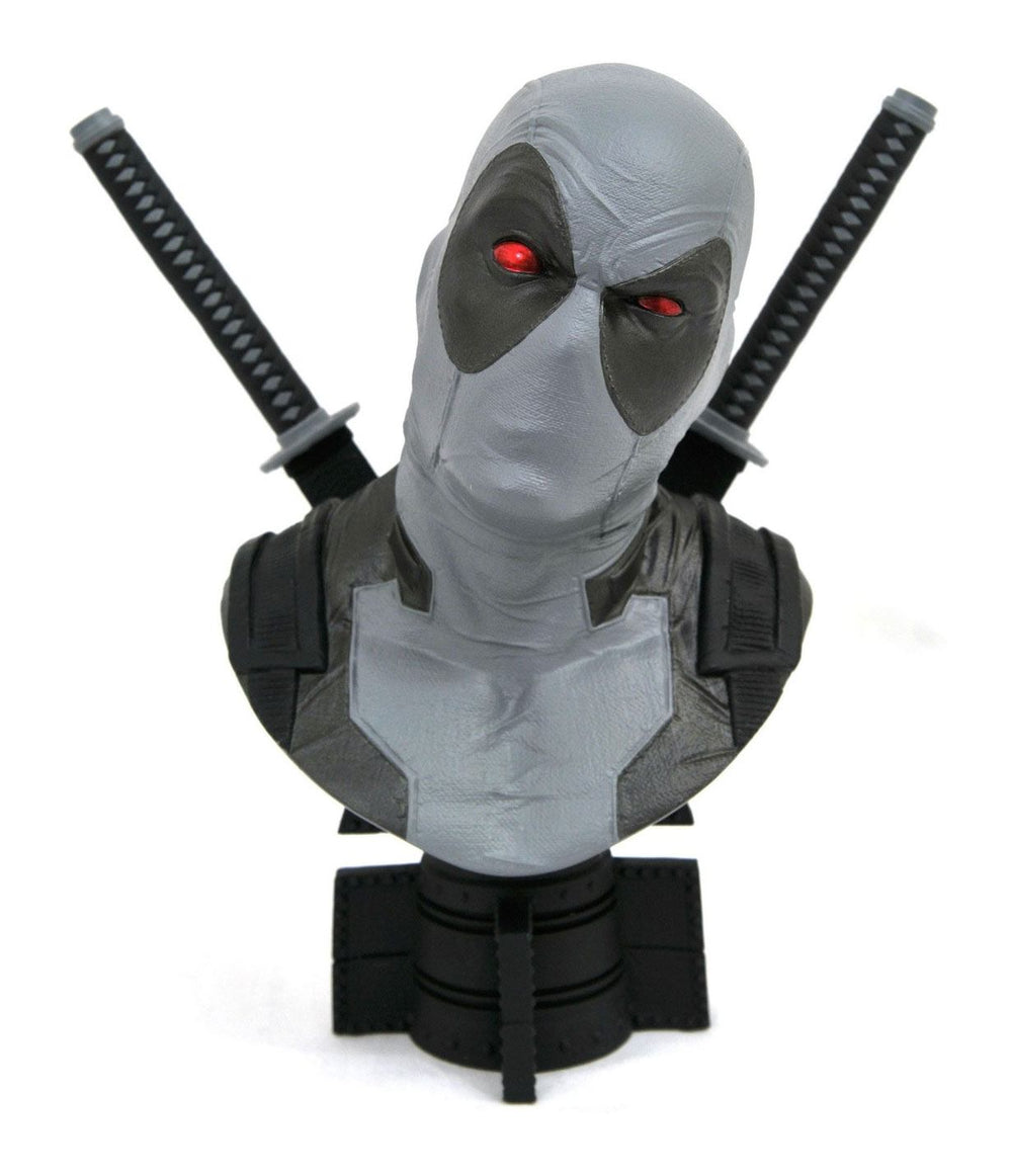 Diamond Select Toys Marvel Comic Legends in 3D Deadpool (X-Force) SDCC 2019 Exclusive 1/2 Bust