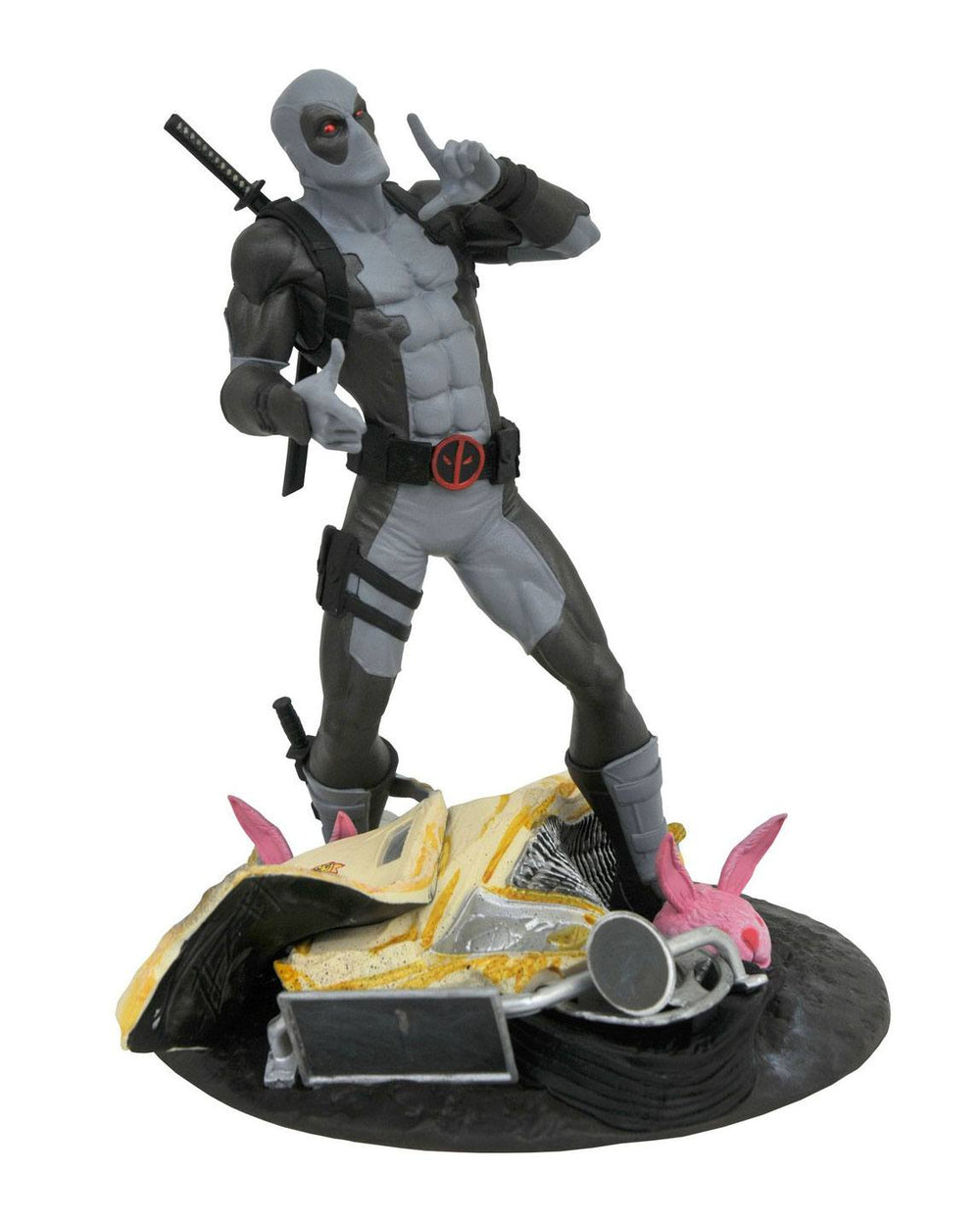 Diamond Select Toys Marvel Gallery Deadpool (X-Force) Taco Truck SDCC 2019 Exclusive PVC Statue