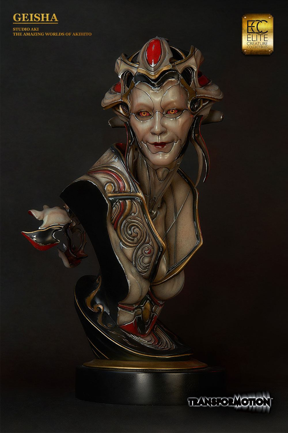 Elite Creature Collectibles Geisha by Akihito Life-Size Bust