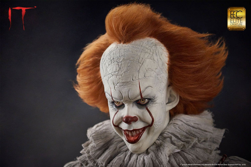 Elite Creature Collectibles Stephen King's It Pennywise Life-Size Bust