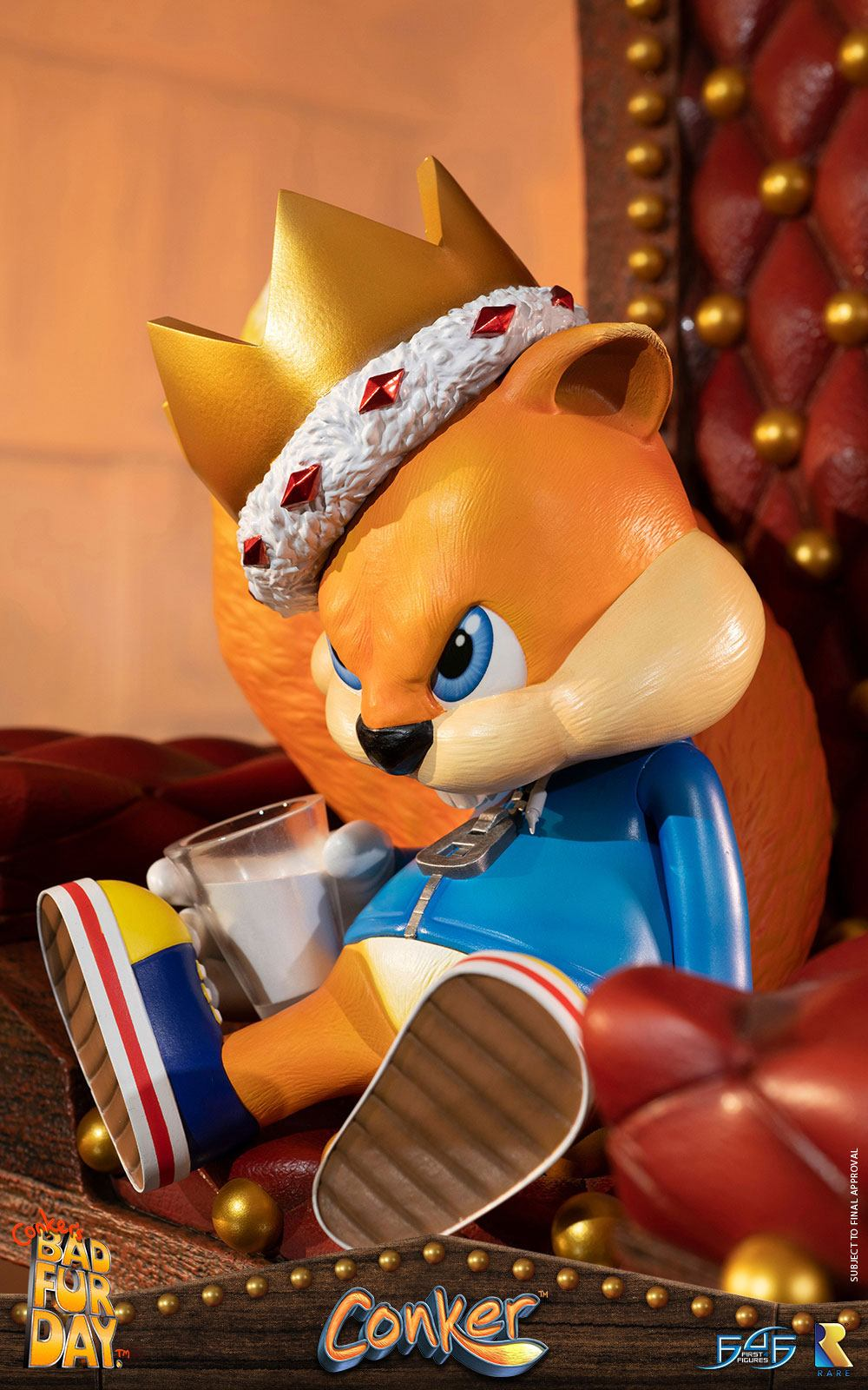 First 4 Figures Conker's Bad Fur Day Conker Statue