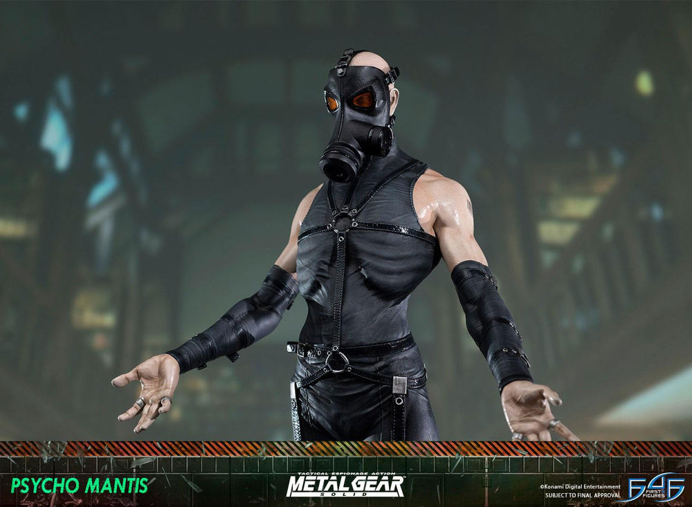 First 4 Figures Metal Gear Solid Psycho Mantis Statue